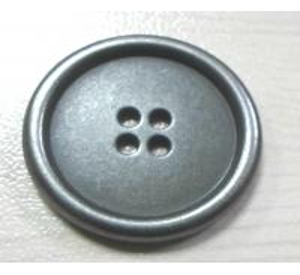China 4H Metal Button, Art.1210, size 18,23mm, Classic Rim Coat Button on sale