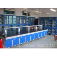 Best Large Modular Laboratory Furniture With 304 SUS hinge / Steel Embedded Handle wholesale
