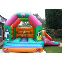 Best Custom Cartoon Inflatable Combo Tom And Jerry Bouncy Castle For Rent wholesale