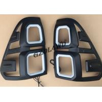 Best Black 4x4 Body Kits / Car Tail Light Cover With LED For Toyota Hilux Revo Sr5 15 - 17 wholesale
