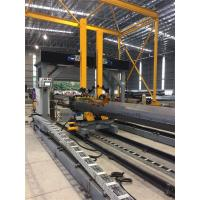 Quality Gantry Positioning H Beam Assembly Machine for Pole Lamp post Flange fitting and welding wholesale