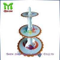Best Single tiers Cardboard Cake Stands For Decration Christmas Party wholesale
