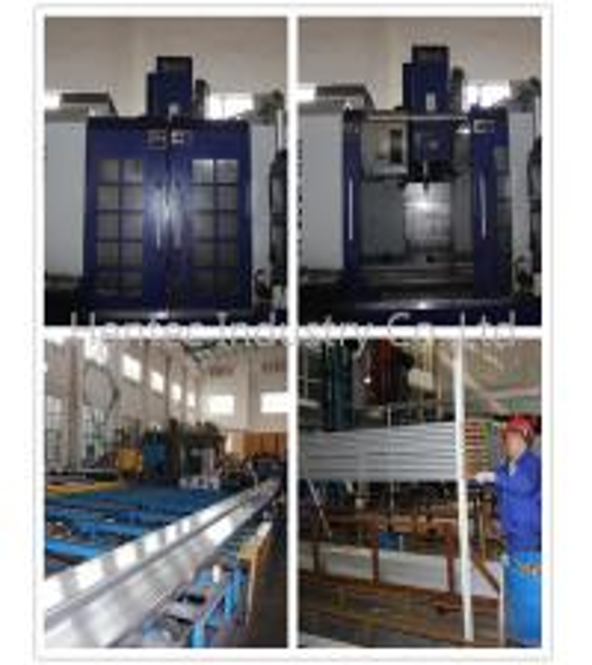 Anodizing 6061 6060 6005 aluminium kitchen doors frames Cutting / Driling / Punching