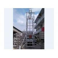 Cheap Multi-use Portable Frame Aluminum Mobile Tower Scaffold with Ladder wholesale
