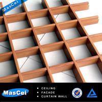 Best Aluminium grid ceiling/ metal grid ceiling and aluminum ceiling tiles 600*600mm for home wholesale