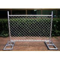 Best Cross Brace Chain Link Temporary Fencing Hot Galvanized wholesale