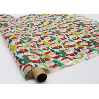 Best Gifts Paper Printed Decorative Wax Paper Santa Claus Pattern One Side Coating wholesale