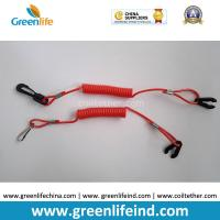 Best Safety Jet Ski Floating Standard Red Coil Ripcords w/Plastic Hook&Key wholesale
