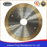 Best 105mm - 350mm Sintered Ceramic Tile Saw Blades For Porcelain Cutting with Narrow Laser Cut Key slot wholesale