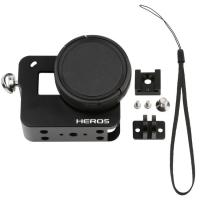 Buy cheap Hero 5 Accessories CNC Aluminum Alloy Protective Case Housing Shell Cage For GoPro Hero 5 Black Camera With 52mm UV Lens from wholesalers