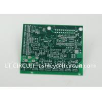 Best Impedance Control Printed Circuit Board PCB Lead Free HASL Green Solder Mask wholesale
