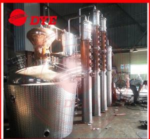 Best Manual Commercial Distilling Equipment , Rum / Brandy Pot Still wholesale