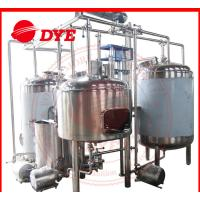 Best 1500L Semi-Automatic Beer Microbrewery Equipment Steam Heating wholesale