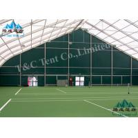 Best Waterproof Sporting Event Tents Polygon Sports Hall For Indoor Tennis Sports With SGS wholesale