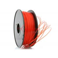 Cheap 3D Printer 3mm PLA Filament Red High Stiffness 1kg Spool , recycle 3d printer for sale