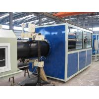 Cheap 16 - 1200mm Diameter HDPE Pipe Extrusion Machine for sale