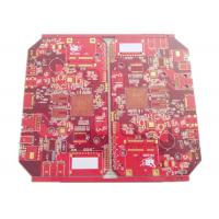 Best Battery Chargers Power Supply PCB & PCBA 4 Layers FR 4 Red Soldmask wholesale