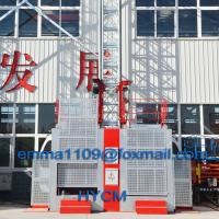 China SC Construction Elevator Low Speed Frequency Control Factory Quote on sale