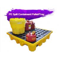 Best Two Drum Spill Decks Containment Pallets Heavy Duty For Oils / Chemicals wholesale