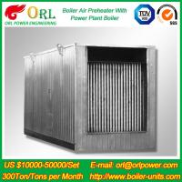 Best Natural Gas Industry 10 Ton Ponderance 150 MW APH Heating Boiler Air Preheater wholesale