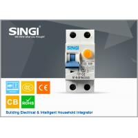 Best 50 / 60Hz IP20 20A Residual current circuit breaker with overcurrent protection wholesale