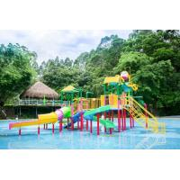Buy cheap Kids Amusement Park Water Playground Fiberglass Interactive Water House Toys from wholesalers