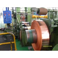 Best Industrial Thin Copper Strips / Copper Sheet Metal For PV Ribbon wholesale