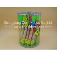 Best Whistle Pen Sweet Sour CC Sticks Candy With Red / White / Pink Colour wholesale