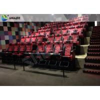 Best Red Motion Chair 4d Movies Theaters With Cup Holder Play Long Movie wholesale