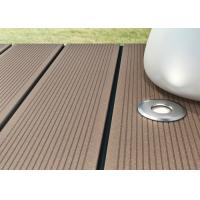 Cheap Recyclable Wood Plastic Composite Decking Board Anti UV Low Maintenance For Garden for sale