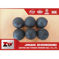 Best No Breakage Grinding Steel Balls for mining and Cement / steel mill media wholesale