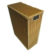 Details Of Dark Brown Rattan Laundry Basket With Lid Rattan Laundry Hamper 98758481