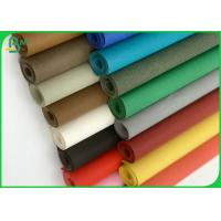 Best White Color Washable Fabric Paper Roll Of 0.3MM 0.55MM Thickness wholesale