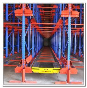 High Density Storage Radio Shuttle Pallet Runner Rack System For Supermarket / Storage