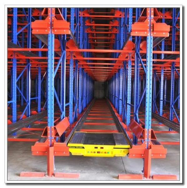 Cheap High Density Storage Radio Shuttle Pallet Runner Rack System For Supermarket / Storage for sale
