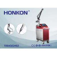 HONKON 1064 Nm 532Nm 2000mj Q Switch Nd YAG Laser Tattoo Removal Pigment Removal Machine