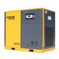 Discount 18% off! Airhorse 75kw/100HP Stationary Screw Industrial Air Compressor for sale
