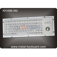 Cheap Rugged Metal Computer Keyboard with 38 trackball for Industrial control Kiosk wholesale