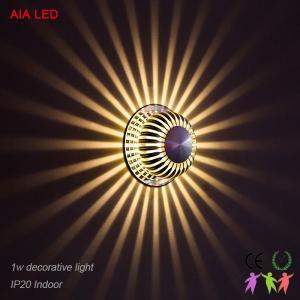 Best Round AC86-265V,50-60Hz IP20 LED wall light /LED decorative lamp for pub wholesale