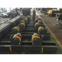 Best Rubber Wheels Automatic Welding Tank Turning Rolls Yellow Painting Screw Adjustment wholesale