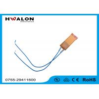 PTC Ceramic Heater Thermistor , Ceramic Resistor Heater With Two Leads