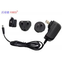 Cheap RoHS Approval Ac To 12v Dc Power Adapter , 12V 1A Mobile Phone Wall Charger for sale