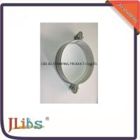 Quality White Galvanised Steel M7 Cast Iron Pipe Clamps With Riveted Nuts wholesale