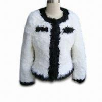 China Fashionable Fur Coat, Made of Curly Lamb Fur, Hot Sale, OEM Orders Welcomed on sale