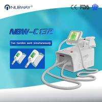 China 2018 Portable fat freezing cryolipolysis machine, 3 interchangeable cryo handles on sale