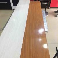 Cheap 25cm Decorative Plastic Wall Panels , Wood Interior Wall Paneling Excellent for sale