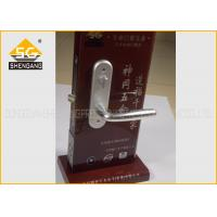 Best Adjustable Italian Wood Interior Door Silent Door Handle Lock Noise Elimination wholesale