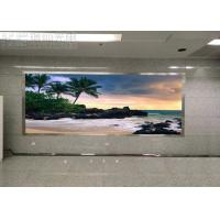 Cheap P5 Meeting Message Wall Indoor LED Displays Anti - UV Module SMD3528 Fast for sale