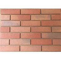 Best Split Tiles Exterior Thin Brick Red Effect Cladding Easy Construction wholesale