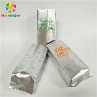 Buy cheap Waterproof Foil Pouch Packaging Stand Up Coffee Bag Gravnre Printing With Vent from wholesalers